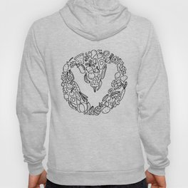 V Vegetables Hoody