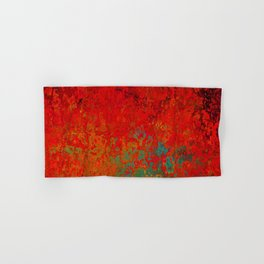 Figuratively Speaking, Abstract Art Hand & Bath Towel