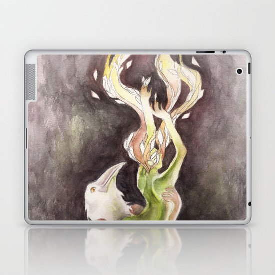 If you can't be my wife, you shall be my tree (Apollo & Daphne) Laptop & iPad Skin