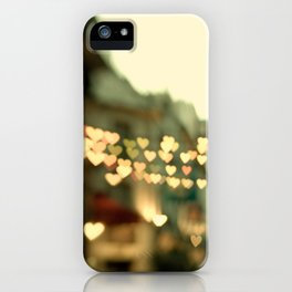 Looking for Love - Paris Hearts iPhone Case