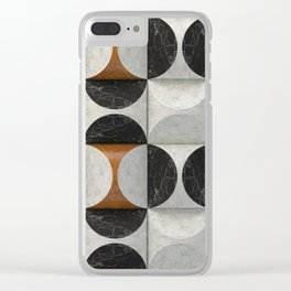 Marble game Clear iPhone Case