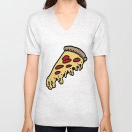 pizza Unisex V-Neck