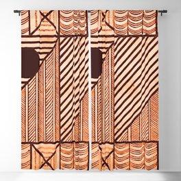 Savage Tribe Ancient Geometric Pattern Blackout Curtain