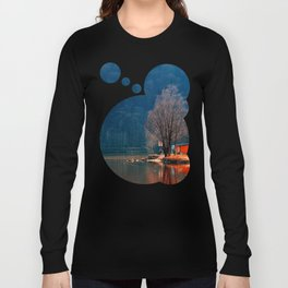 Gone fishing | waterscape photography Long Sleeve T-shirt