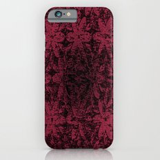 Pink Halftone Flowers iPhone 6s Slim Case