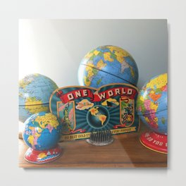 One World Metal Print