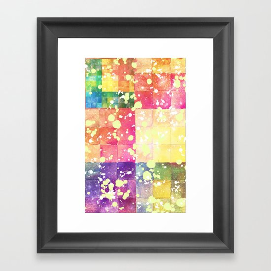 Watercolors - For iphone Framed Art Print