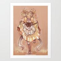fire emblem awakening Art Prints featuring Strangeness and Charm (Lissa, Fire Emblem Awakening) by Lunaros