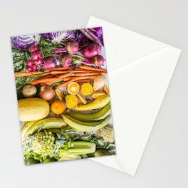 Eat the Rainbow Stationery Cards
