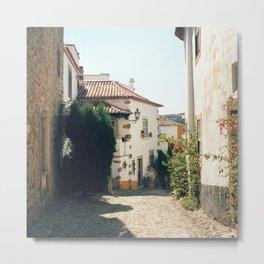 Obidos, Portugal (RR 179) Analog 6x6 odak Ektar 100 Metal Print