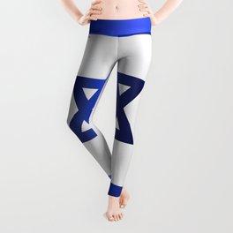 Israel Star Of David Flag Leggings