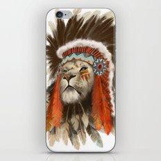 Lion Chief iPhone & iPod Skin