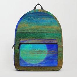 Turquoise Moon Night Backpack