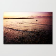 Red Skies Canvas Print