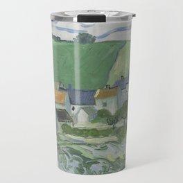 View of Auvers Travel Mug