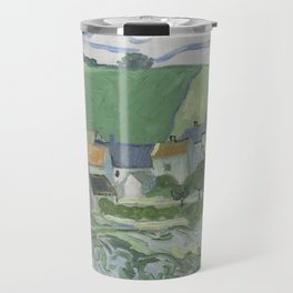 View of Auvers Travel Mug