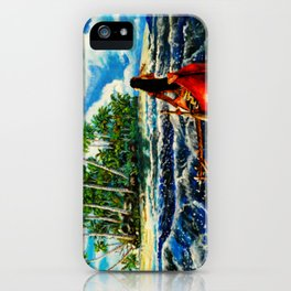 Paddling Home iPhone Case