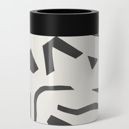 Cut Out - Black Can Cooler