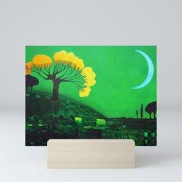 Nigh calm Mini Art Print