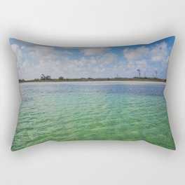 Emerald Waters Rectangular Pillow