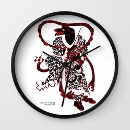 Chinese zodiac sign, Year of the Dog Wall Clock