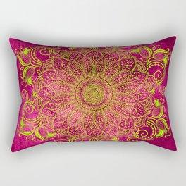Pink lemon Rectangular Pillow
