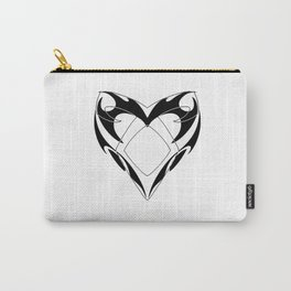 Shadowhunters rune silhouette and tribal heart - Parabatai - Malec Carry-All Pouch