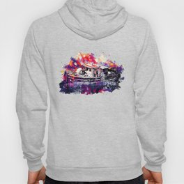 old ship boat wreck ws fn Hoody