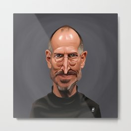 Celebrity Sunday ~ Steve Jobs Metal Print
