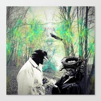 birdman Canvas Prints featuring Birdman by Cs025