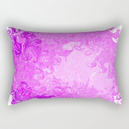 Pink Swirl Rectangular Pillow