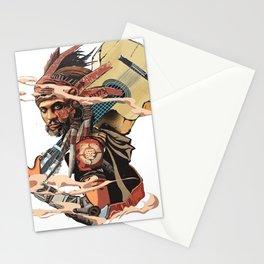Street artist . Stationery Cards