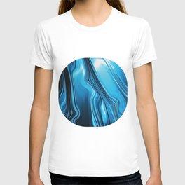 Streaming Deep Blues T-shirt