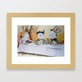 It was just a dream Framed Art Print