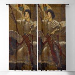 "Sir William Blake Richmond ""Joan of Arc"" Blackout Curtain"