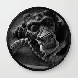 Stone Dragon Wall Clock