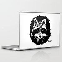 racoon Laptop & iPad Skins featuring Racoon by leart