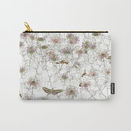 Moths on Bee Balm Carry-All Pouch