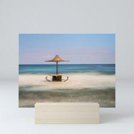 Seaside Bar Mini Art Print