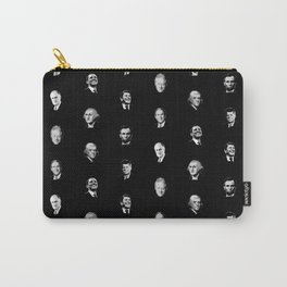 Famous Presidents Pattern Carry-All Pouch