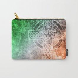 Irish Celtic Cross Carry-All Pouch