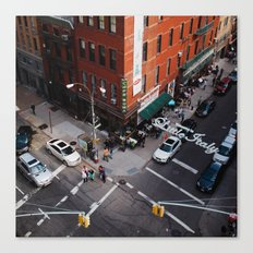 Little Italy From Above Canvas Print