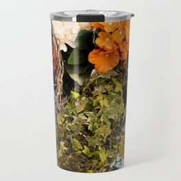 Basket Full of Flowers Travel Mug