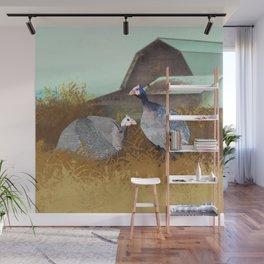 Jenn's Hens Wall Mural