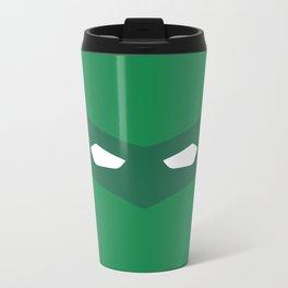 Green Lantern superhero Metal Travel Mug
