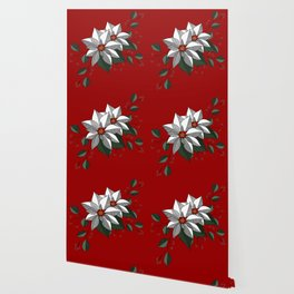 Holiday Flowers Wallpaper