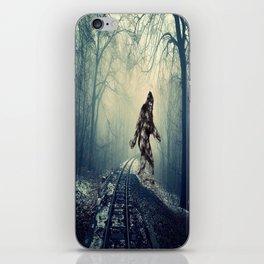 Misty Railway Bigfoot Crossing iPhone Skin