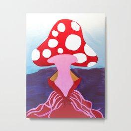 SEXY SHROOM Metal Print