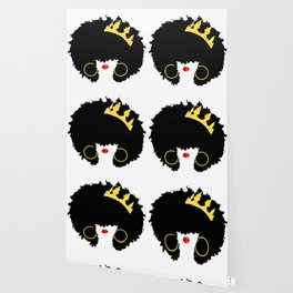 Mommy's Night Out | Natural Hair Art | Girls Night Out | Black Moms | Afro Art | Royalty Wallpaper