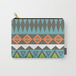 Aztec Pattern No. 17 Carry-All Pouch